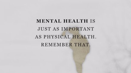 Mental Health Awareness Letters – 22nd May2018